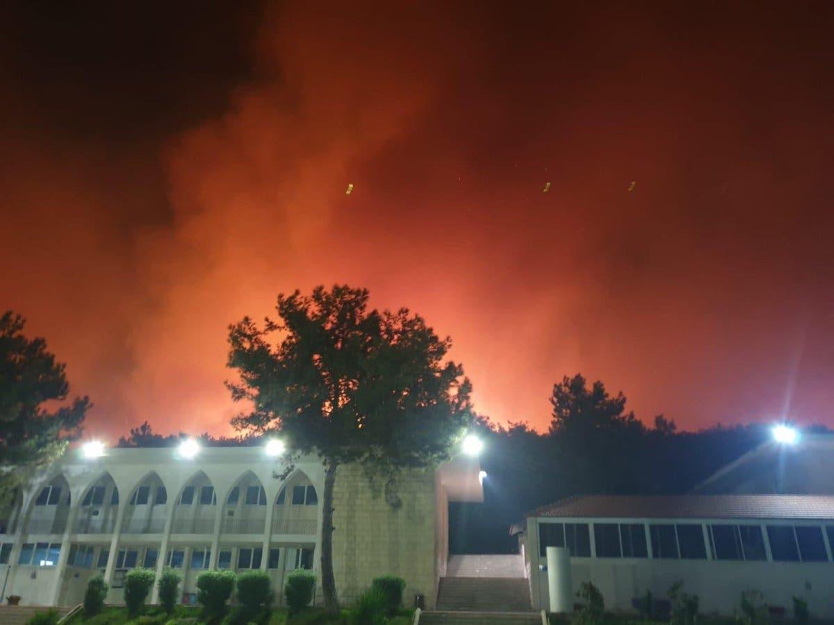 لبنان يحترق ويشعل مواقع التواصل.. فيديوهات تدمي القلب 1