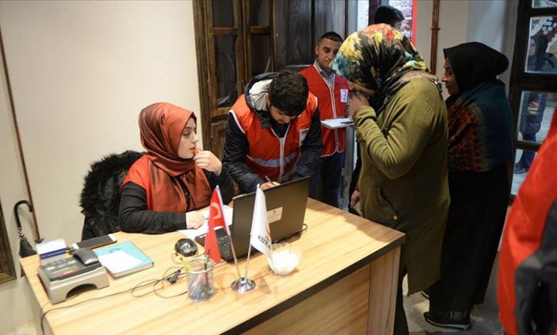 منظمات تركية توزع مساعدات شتوية على آلاف الأسر 1