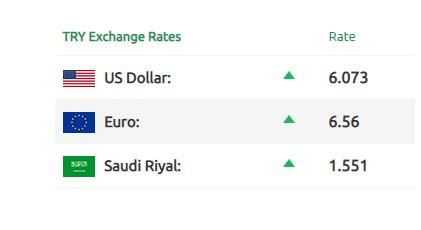 أسعار صرف الذهب و الليرة التركية والسورية 2