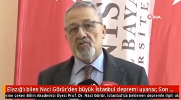 البروفيسور الذي حذر من زلزال إلازغ يعود ويحذر اسطنبول هذه المرة 1