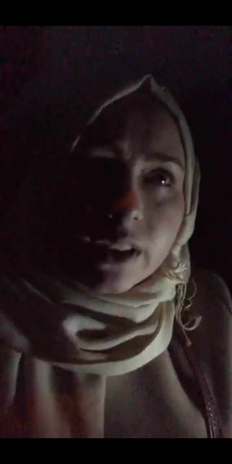 ناشطة إعلامية تنقذ بعض الشباب من موقف صعب .. وتحذر القادمين إلى الحدود 1