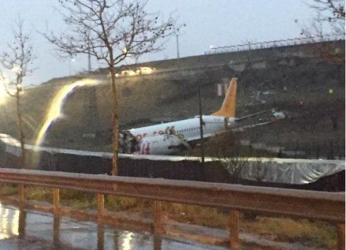 عاجل اسطنبول .. سقوط و تحطم طائرة إلى ثلاث أجزاء 2