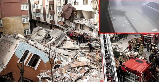 انهيار مبنى في اسطنبول 1