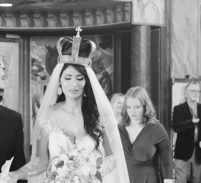 شاهد:السعودية فايزة المطيري بفستان فاضح بحفل زفافها في الكنيسة بعد ارتدادها عن الإسلام 1