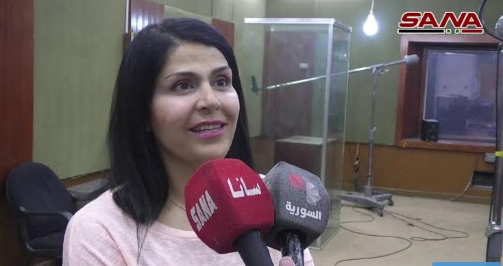 """فنانة سورية تعلن إصابتها بفيروس """"كورونا"""" 1"""
