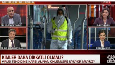 Photo of بكاء مذيعة تركية على الهواء إثر حديث طبيب عن إصابة زملائه بكورونا (فيديو)