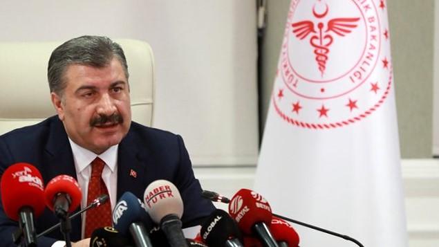 وزير الصحة التركي يصرح حول انخفاض سرعة تفشي الفيروس في تركيا 2