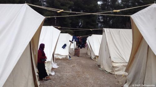 اعلان أول إصابة بـ كورونا في مخيمات اللاجئين في اليونان