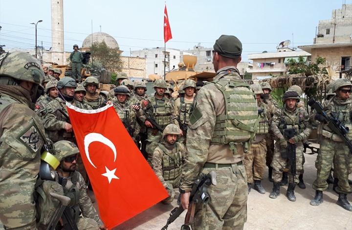 الجيش التركي يوجه رسالة إلى أهالي مدينة إدلب 11