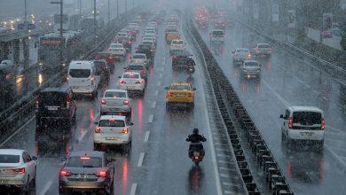 صورة تحذير لسكان ولاية  إسطنبول : عاصفة قوية تستمر 3 أيام