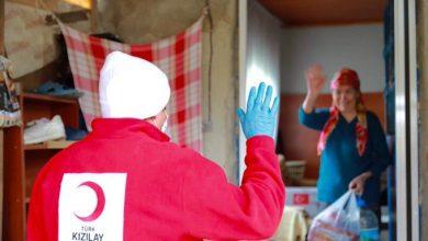 Photo of الهلال الاحمر التركي يدعو المواطنين الذين ليس لديهم القدرة على توفير الخبز والغذاء للاتصال بهم.