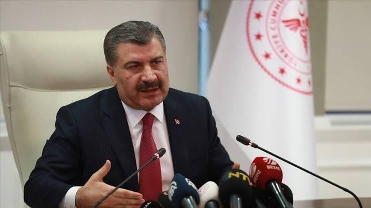 وزير الصحة التركي يصرح حول شمل السوريين بأعداد الإصابات اليومية بفيروس الكورونا . 1