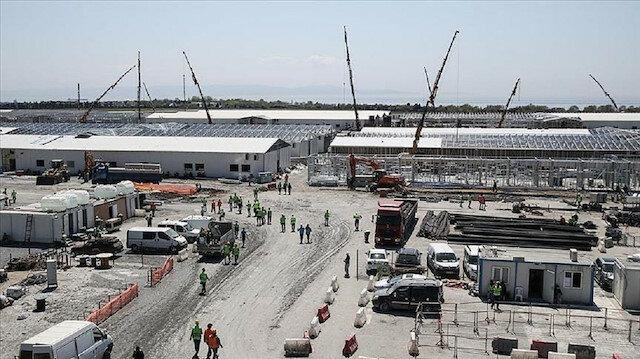 """تواصل بناء مستشفيين في """"مطار أتاتورك"""" و """"سنجاق تبه"""" بإسطنبول 1"""