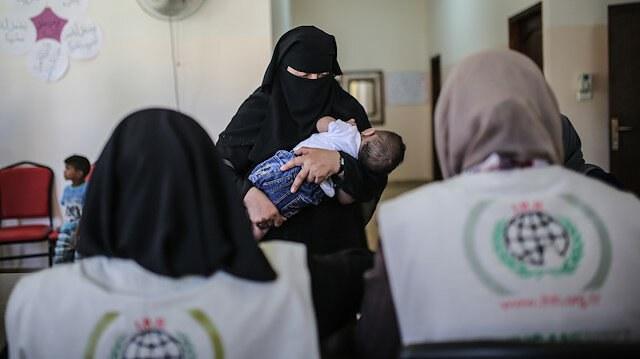 Photo of هيئة الإغاثة التركية ترسل المساعدات إلى 15 ألف يتميا في قطاع غزة