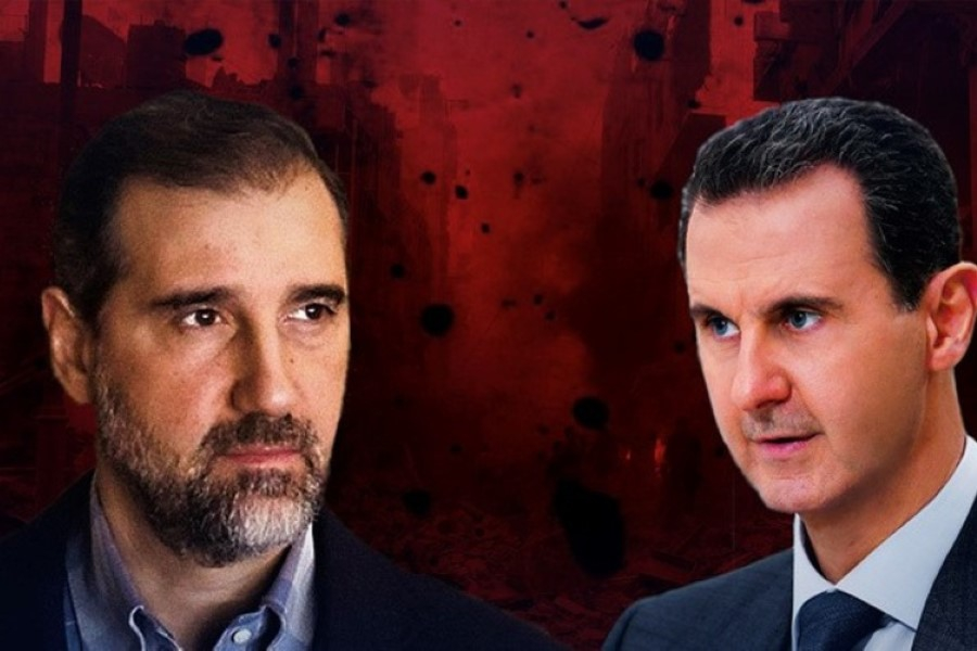 الأسد يضع يده على اموال مخلوف.. النظام يحجز على أموال الملياردير وزوجته وأولاده
