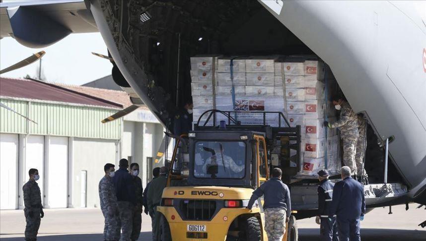 تركيا ترسل المساعدات الطبية من جديد إلى هذه الدولة..