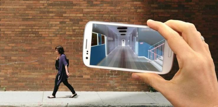 فيديو| قريباً.. كاميرات الهواتف الذكية سترى ما وراء الجدران! 1