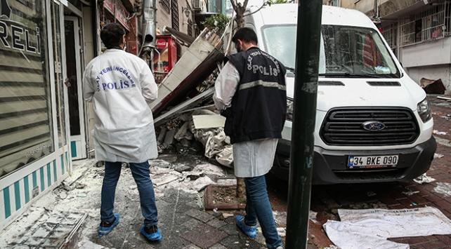 Photo of انفجار ضخم يؤدي إلى إصابة عامل أجنبي في ولاية اسطنبول