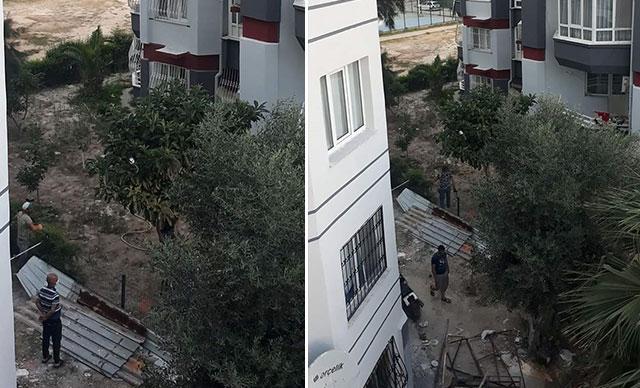 سقوط طفل سوري في ولاية أزمير التركية من نافذة منزله وهذا ما حدث 7
