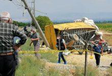 صورة حادث اصطدام يتسبب بمقتل السائق على الفور و ضحايا اخرى