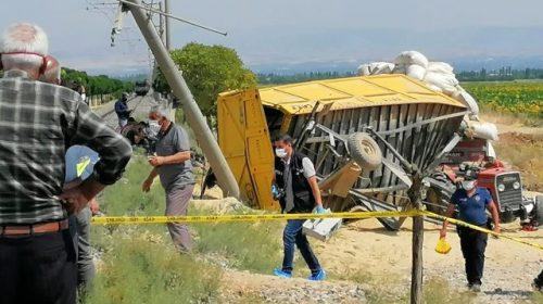 حادث اصطدام يتسبب بمقتل السائق على الفور و ضحايا اخرى