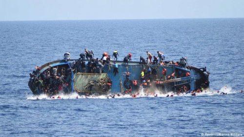 غرق قارب يحمل مهاجرين غير نظاميين وانتشال ست جثث حتى اللحظة في بحيرة شرق تركيا