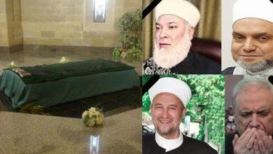 Photo of كورونا يودي بحياة عدد من مشايخ النظام عقب زيارتهم قبر حافظ الأسد