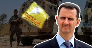"""صورة المليشات الإنفصالية """"قسد"""" توجه صفعة لحكومة بشار الأسد"""