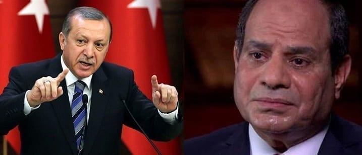 """الرئيس التركي يرد على تصريحات """"السيسي """"حول تدخل القاهرة عسكرياً في ليبيا 1"""