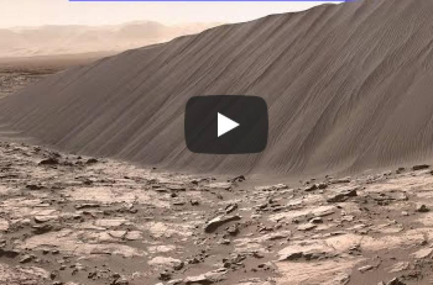 فيديو :لأول مرة في العالم لقطات من المريخ بدقة عالية! 1