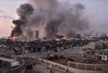 صورة لاجئون سوريون ضحايا في انفجار بيروت الضخم!