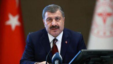 صورة تعليق من وزير الصحة التركية على حوادث الفرار من الحجر الصحي
