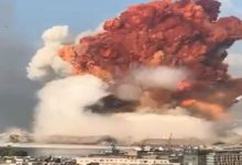 Photo of بيروت العاصمة اللبنانية مدينة منكوبة بعد انفجار هائل هز المدينة