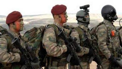 """صورة """"القبعات المارونية"""" فرقة من الجيش التركي ستشارك في سوريا تعرف عليها"""
