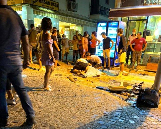 الشرطة التركية تعتقل مخموراً صدم بسيارته عائلة كاملة 1