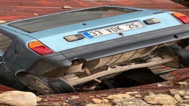 صورة حادث غريب في مدينة مرسين
