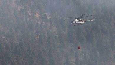صورة استغرق 5 أيام لاطفائه .. فرق الأطفاء تسيطر على حريق كبير في ولاية أضنة