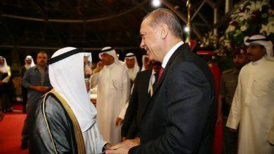 صورة أردوغان يعزي الكويت بوفاة أميرها: نسأل الله أن يتغمده بواسع رحمته