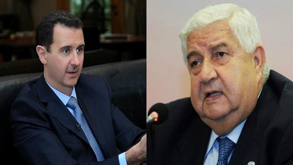 """بعد أن أفـنى حياته إلى جانبه.. """"بشار الأسد"""" يكرم """" وليد المعلم"""" ببـ.ـاقة ورد ويمتنع عن حضور الدفن! 1"""