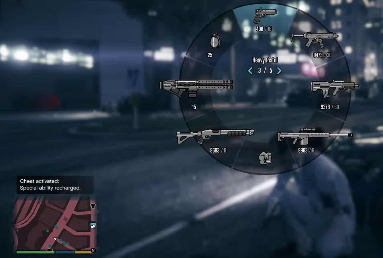 كلمات سر لعبة GTA 5 Grand Theft Auto V جميع الشيفرات وطريقة استخدامها على الكمبيوتر 1