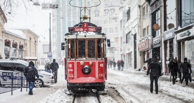 تحذير من الأرصاد الجوية : تساقط الثلوج في اسطنبول يوم الأربعاء القادم 13