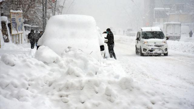 تحذير من الثلوج في 4 ولايات تركية 1