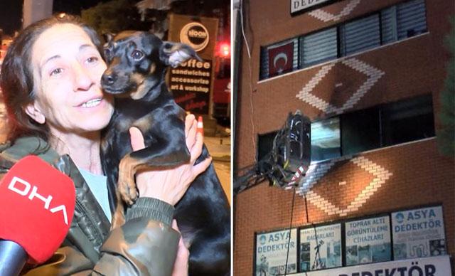 كلب ينقذ صاحبته من الموت في المنزل في ولاية اسطنبول 1