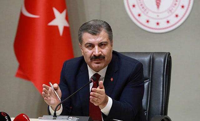 عاجل وزير الصحة التركي لبان جديد بالولايات الأقل و الأكثر عدد من الحالات 1