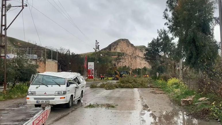 العواصف تتسبب بخسائر وأضرار في شانلي أورفة 4