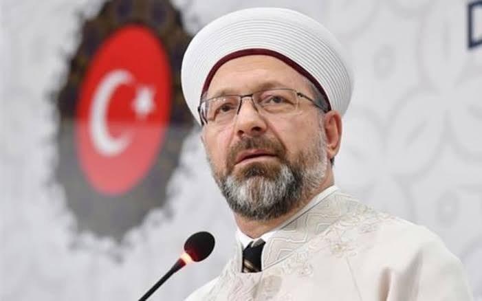 رئيس الشؤون الدينية في تركيا يعلن إصابته بفيروس كورونا 1