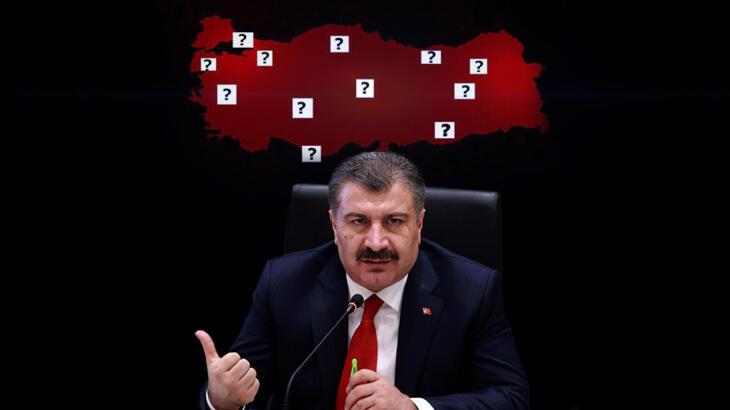 وزير الصحة التركي يعلن الخمس ولايات الأكثر إصابة بفيروس كورونا 1