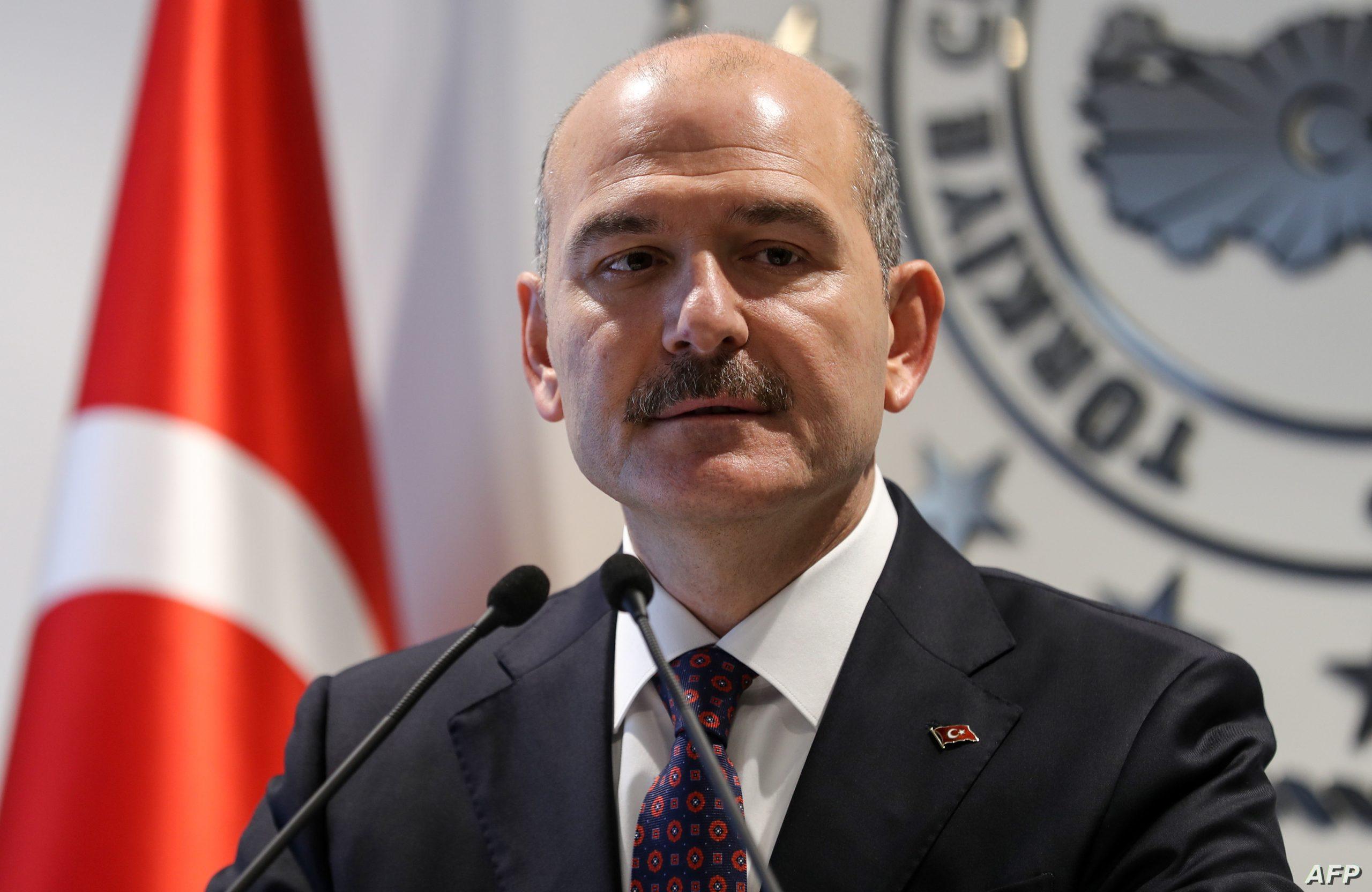 الموت يفجع وزير الداخلية التركي سليمان صويلو 1