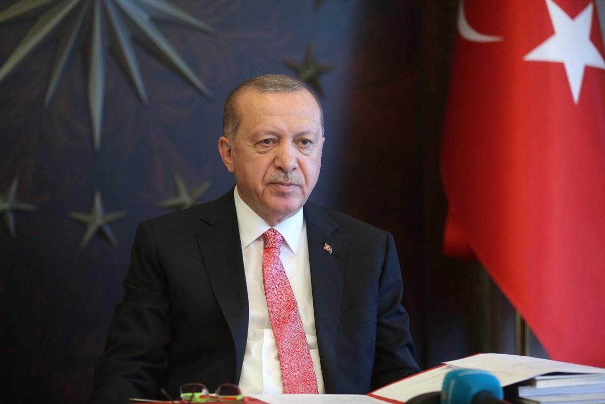 الرئيس أردوغان يعلن عن الولاية الوحيدة التي صنفت في المنطقة الزرقاء 4