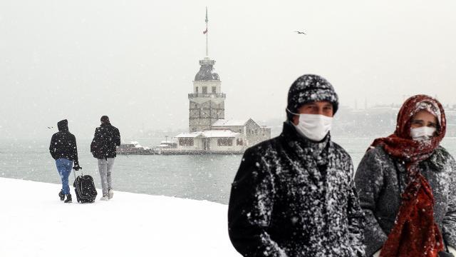 عاجل تحذيرات من الأرصاد الجوية حول تساقط الثلوج في ولاية اسطنبول في هذا الموعد 1